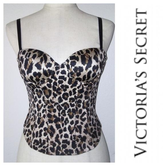 0c1d8a892e6e0 Victoria s Secret BACK OFF BABY Bustier 32A. M 5b6bad25c9bf502087281faa